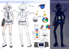 Googleloid concept art by Next--LVL