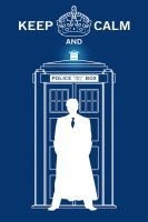 Keep Calm and Dr Who by TheSpartanOfAuburn