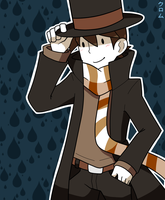 Hershel Layton - Winter by CrazyAcidArt