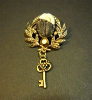 Steampunk Broach 14 by KatarinaNavane