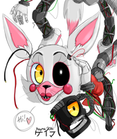 The Mangled Fox, Her name is Mangle by 0GameGirlArtistNerd0
