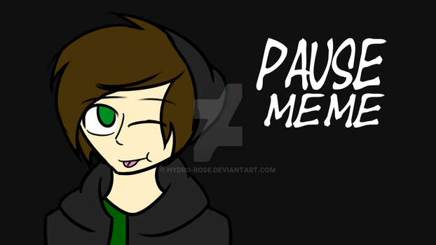 Pause Meme Animation! Link by Hydro-Rose