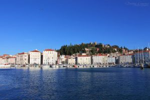 Blues of Piran by DorotejaC