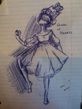 Figure practice 2: hearts by Ercneps