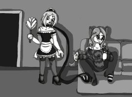 Pet Zombie Maid Minion by Ferret-X