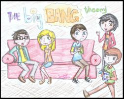 the big bang theory by isaygorawr