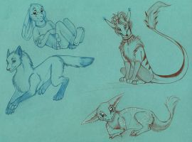 Sketch trades for DA and FN by Suane