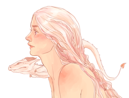 Daenerys in Pink by batcii
