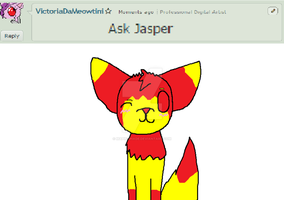 Ask jasper (MOVED) by VictoriaDaMeowtini