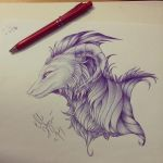 ~ Ballpointpen work ~ by GreenEco94
