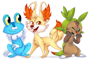 New pokes on the block by Tikeriz