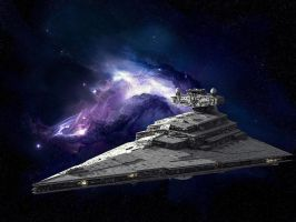 Imperial Star Destroyer by MasterofIntelligence