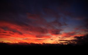 Edinburgh Sunset Wallpaper 1 by Smiling-Demon