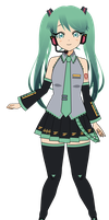 .:Hatsune Miku:. {EXPORT CODE} by queen-mari
