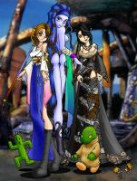 FFX Funtime by treager-sama