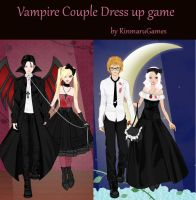 Vampire Couple dress up game by Rinmaru