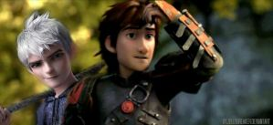 Hiccup and Jack by jellybreaker