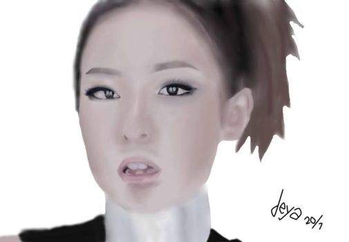 I Am The Best : Sandara Park by hanabispark