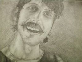 Eugene Hutz - Gogol Bordello by b-saul