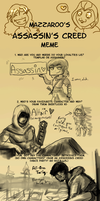 .Assassin's Creed Meme. by Noglogtog