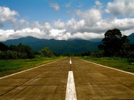 colombian airstrip by forceofg