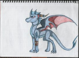 Astron the Dragon by Blue-Dragons-Fan