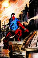 Scarlet Spider colored by Panther10