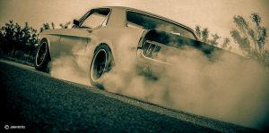 68 Mustang BurnOut by prospiderman