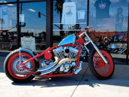 Red n Chrome Bobber by Swanee3