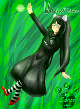 Witch of Space   Homestuck   413 Special by MyDrawingSpace888