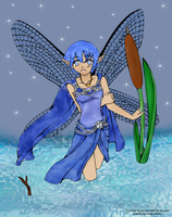 Water Fae by hidakaakiko