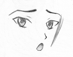 Anime Face by mashaheart