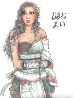 Jiao Mai: Dynasty Warriors OC by lori286787