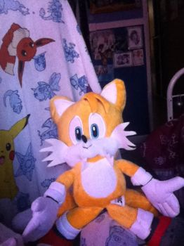 my tails plushy by fossil-fighter