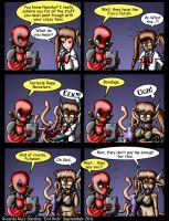 Deadpool and Nanoha Issue 5 by Evil-Rick