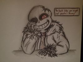 Horrortale - Sans by AlwaysThinkingInsane
