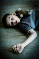 Exhausted of being child by KadraPro