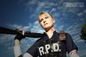 Leon Kennedy Gender Bend Cosplay by CLeigh-Cosplay