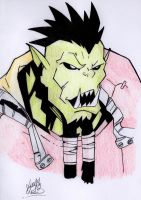 Wow Orc Male Colo by cronos93b