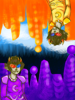 Prospit/Derse Sollux by Magdaleen-96
