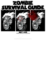 Zombie Survival T-shirt by SEspider