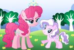 Commision for Davaba19: Pinkie and Diamond Switch by Willemijn1991