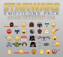 StarWars Emoticons Pack by brianb
