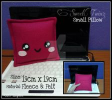 Kawaii Small Pillow by SongAhIn