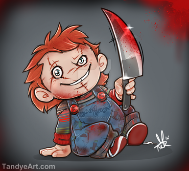 Chucky Doll by tandemonium