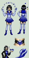 Sailor Glacium - Sunila new reference by Chibi-Sugar