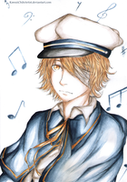 Vocaloid - Oliver by KawaiiChibiArtist