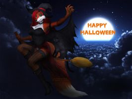 Happy Halloween by Vani-Fox