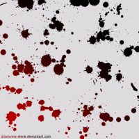Blood Brushes by Dracovina-Stock