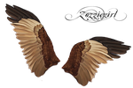 Painted Wings in png by Zozziegirl